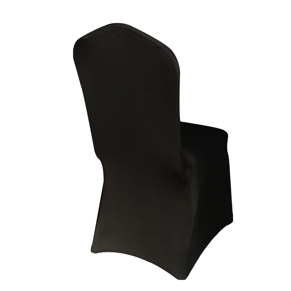 HAORUI Conjunto de Cubiertas Spandex Stretch Lycra Chair de 4 Modernas Fundas de poliéster Lycra Silla para Bodas Evento Aniversario Dinning ...