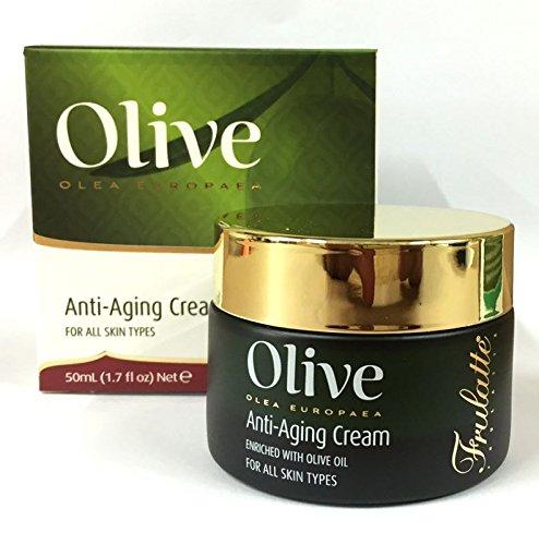 Frulatte Olive Olea Europaea Olive Oil Anti Aging Cream For All Skin 50ml