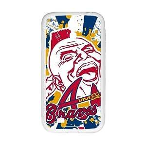 Atlanta Braves Design Hard Case Cover Protector For Samsung Galaxy S4