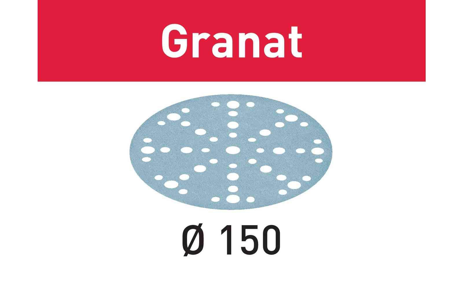 Festool 575160 40 Grit GRANAT For 6'' Sander, 50X by Festool