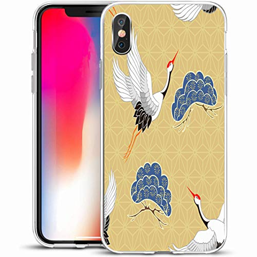 Case Heron Blue - Melyti Custom Phone Case Cover for iPhone X/XS 5.8