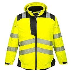 Portwest PW3 Hi-Vis Winter Jacket Work S...