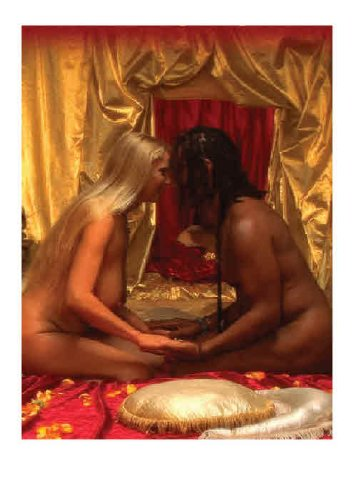 Tantric massage and sex