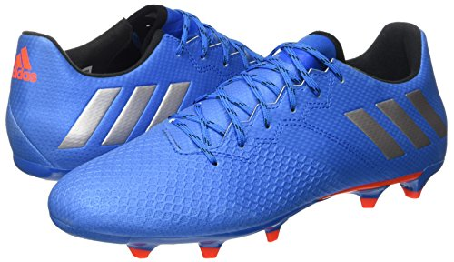 bleu 16 De Pour Noir Fg Messi Chaussures Bleues Adidas Choc Hommes 3 Argent Mat Football Iwaavdx