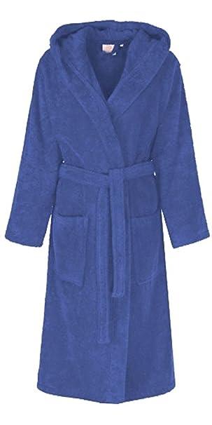 Albornoz / bata con capucha unisex para hombre y mujer 100% algodón : Amazon.es: Ropa y accesorios