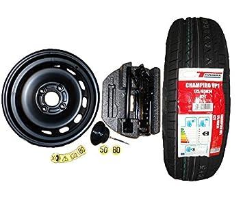 Ford New Genuine Fiesta  Spare Wheel Kit Plus Tyre  On Kitspare