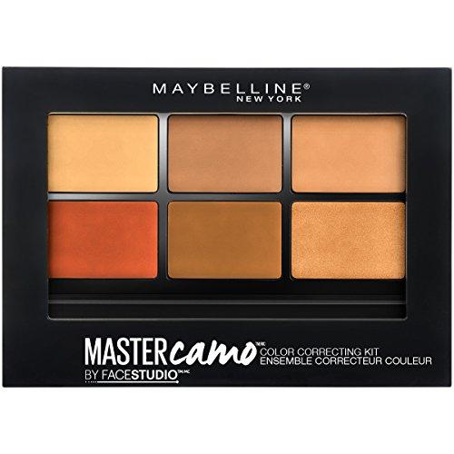 Maybelline New York Facestudio Master Camo Color Correcting Kit, Deep, 0.21 oz. (Best Drugstore Orange Concealer)