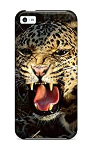 New Arrival Cover Case With Nice Design For Iphone 5c- Leopard