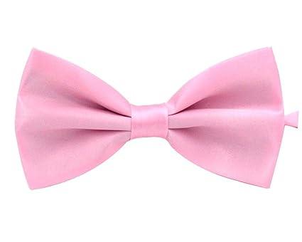 Doitsa Pajarita Hombre Moda Boda ajustable del smoking corbata pajaritas Color sólido Ocio disponible en diferentes colores TevmzTy