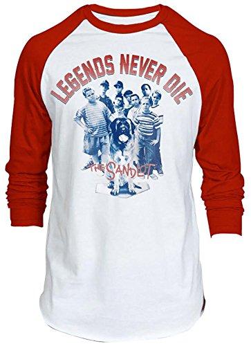 the-sandlot-mens-sandlot-legends-raglan-graphic-t-shirt-white-red-x-large