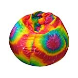 large gold medal - Gold Medal Bean Bags Small/Toddler Denim Look Bean Bag with Cargo Pocket, Tie Dye