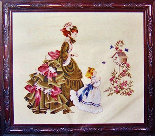Little Wings - Lavender & Lace Victorian Designs Counted Cross Stitch Chart ()