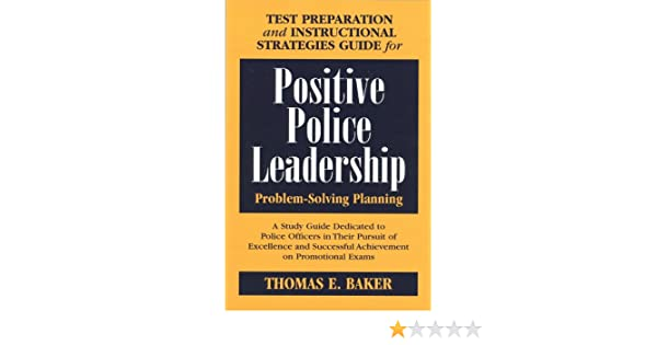 Test Preparation And Instructional Strategies Guide For Positive