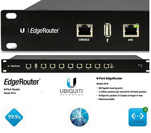 Ubiquiti Networks ER-8 Edgerouter 8 Port Router