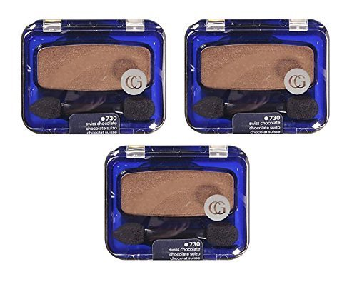 CoverGirl Eye Enhancers Swiss Chocolate 730 Pro Shadow - 3 per case.