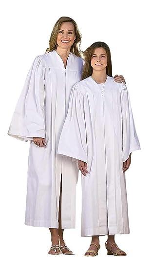 Amazoncom Adult Baptismal Gown Clothing
