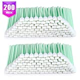 "200pcs 5.11"" Square Rectangle Foam Cleaning Swab Sticks for Solvent Format Inkjet Printer Roland Optical Equipment"