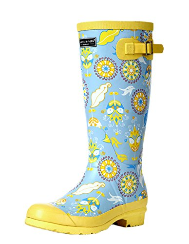 Boots Women Insun Rubber High Rain Women's Yellow for SnwApt7