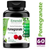Pomegranate – Supports Heart Health, Promotes Good Cholesterol & Artery Health, Potent Antioxidant, Immune System Support – Emerald Laboratories (Fruitrients) – 60 Vegetable Capsules Review