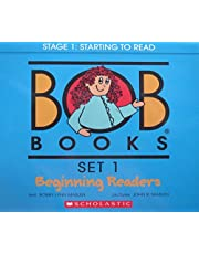 Bob Books - Set 1: Beginning Readers Box Set   Phonics, Ages 4 and up, Kindergarten (Stage 1: Starting to Read)