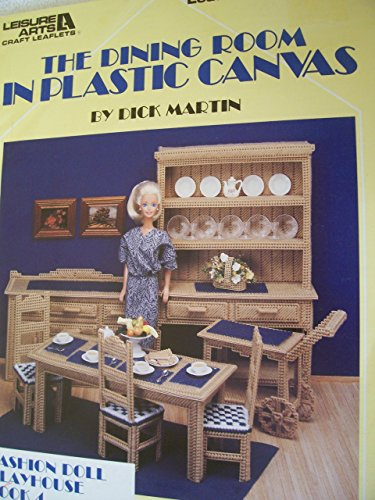 The Dining Room in Plastic Canvas (Canvas Doll Plastic Fashion)