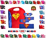 super why costume - Kid's, Boy's and Girl's SuperHero Costumes Multi-Pack with 5 Pieces. 5 Piece Set
