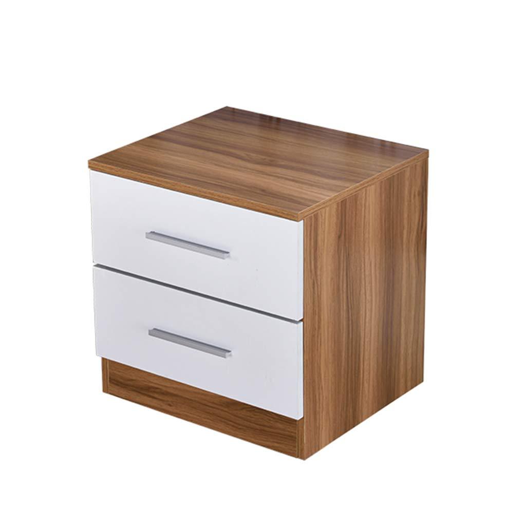 2 454045cm GJM Shop Simple Bedside Table Narrow Cabinet with Drawers Mini Bedroom Bedside Cabinet Fashion Furniture (color   1, Size   30  40  45cm)