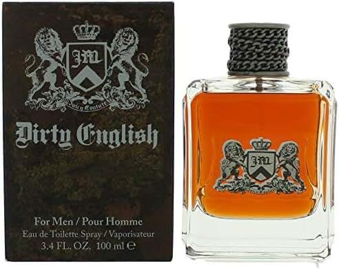 • Dîrty ënglïsh Cõlogne for Men 3.4 oz Eau De Toilette Spray •