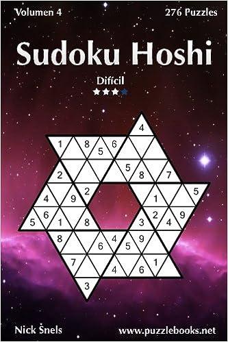Sudoku Hoshi - Difícil - Volumen 4 - 276 Puzzles (Volume 4 ...