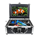 Tiangtech® Popular New Version Underwater Fishing Video Camera Kit | Professional Fish Finder with 7'' LCD Monitor and 50 Ft Cable