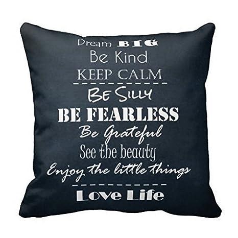 Amazon.com: Feesoz - Funda de almohada con diseño de ...