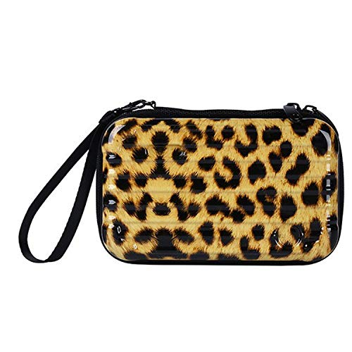 Luggage Porter Case Pc - New Waterproof Makeup Bags Hard Portable Cosmetic Bag Women Travel Organizer Necessity Beauty Case Suitcase Make Up Bag,Light leopard