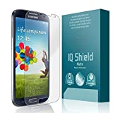Samsung Galaxy S4 Screen Protector, IQ Shield Matte Full Coverage Anti-Glare Screen Protector for Samsung Galaxy S4 Bubble-Free Film - with