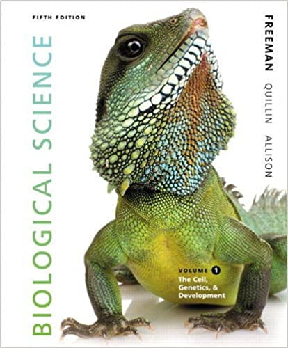 Biological Science Volume 1 5th Edition