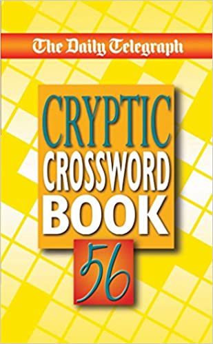 The Daily Telegraph Cryptic Crossword Book 56