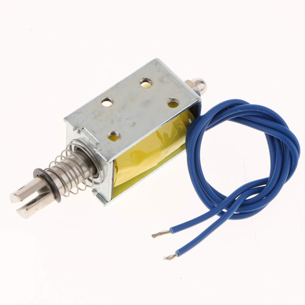2X DC6V B Blesiya /Électroaimant Push Pull Actionneur Sol/éno/ïde Poussoir Lin/éaire