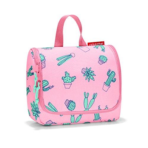 reisenthel toiletbag S kids, Small Toiletry Travel Organizer, Cactus Pink