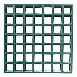 Eco Pultrusions Fiberglass Molded Grating 10.6-Inchx10.6-Inchx1-Inch Green 3pcs