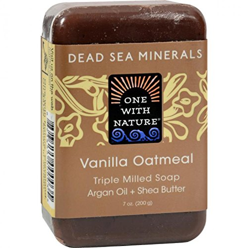 Nature Vanilla Oatmeal Soap - One With Nature Vanilla Oatmeal Soap 200 g by One With Nature