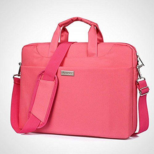 Laptop Multi Shoulder Pink function Bag Handbag Widewing Canvas Business 13'' Briefcase q5tWP