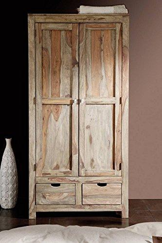 palissandro mobili in legno massello Armadio 2-trg. Sheesham in ...