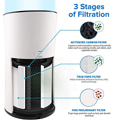 Levoit Air Purifier For Home Large Room With True Hepa