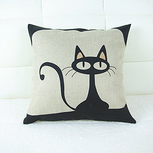 Black Cat Pillow Cover $2.27 +...
