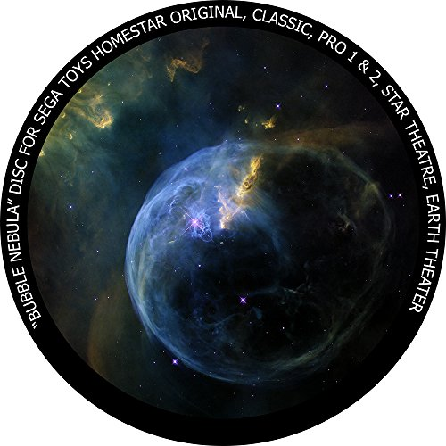 (Bubble Nebula disc for Segatoys Homestar Pro 2, Classic, Original, Earth Theater Home Planetarium)