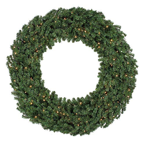 60 Outdoor Lighted Wreath in US - 1