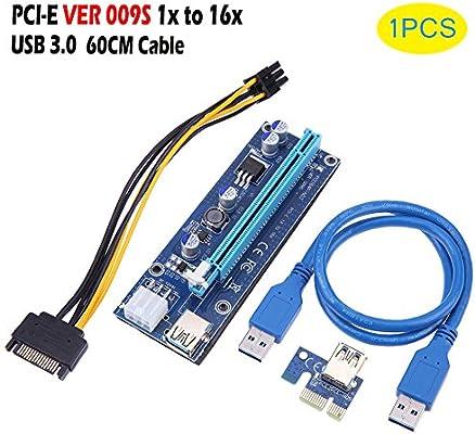 PCIe Riser - Dxlta 1pc / 6pcs / 12pcs Tarjeta vertical PCI-E ...