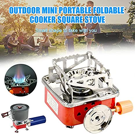 Windproof Camping Foldable Stove Burners, Outdoor Mini ...