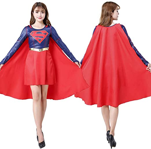 werty Cosplay Ropa Supergirl Cosplay Disfraces Impresión Digital ...