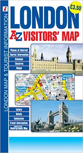 Visitors Map Of London.London A Z Visitors Map By Geographers A Z Map Company 2012 04 30