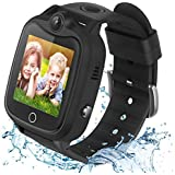Kids Smart Watch for Boys Girls, Waterproof Smart Watch for Kids with Games SOS Call Camera Touch Screen LBS Tracker Kids Sma